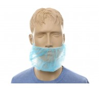 Blue Dispo Beard Snoods - Case of 1000