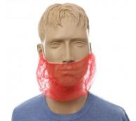 Red Dispo Beard Snoods - Case of 1000