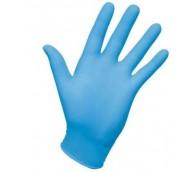Powder Free Blue Vinyl Gloves - Various Sizes