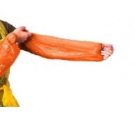 Orange Disposable Oversleeves - Machine made