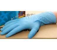 Robust Plus Long Cuff Blue Nitrile Glove - Various Sizes