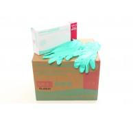 Green Vitrile (Nitrile/Vinyl) Powder Free Gloves - Various Sizes