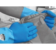 Taskmaster Blue 2 Tone Latex Gloves - Various Sizes