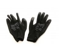 PU Coated Glove Black