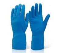 Blue 45g Household Rubber Gloves - Various Sizes