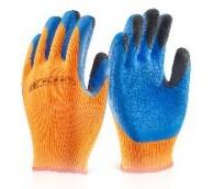 Orange Coldstar Latex Glove - Various Sizes