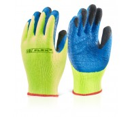Yellow Latex Coldstar Gloves - Various Sizes