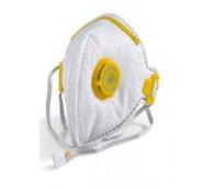 B-Brand Fold Flat P3 Mask Valved - 20 Per Box