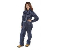 Navy Nylon/PVC Coated B-Dri Suit - Various Sizes