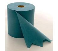 1 Ply Blue Towel Roll - 200m Roll