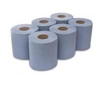 2 Ply Blue Sensor Dry Roll Towel (6 Rolls/Case)