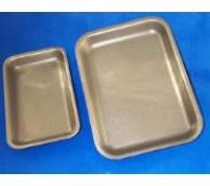 18D Black Polystyrene Trays - 265 x 189 x 20mm