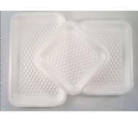 White Polystyrene Trays - 133 x 133 x 20mm