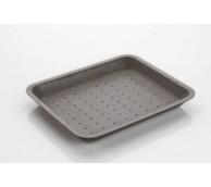 3D Black Polystyrene Tray - 222 x 133 x 20mm