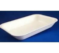 J4 White Polystyrene Tray  - 318mm x 235mm x 38mm