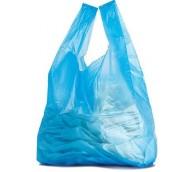 Blue Jumbo Ocean Vest Carrier Bag