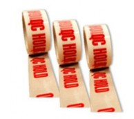 "Printed Tape""Q C Hold"" 50mm x 66m"