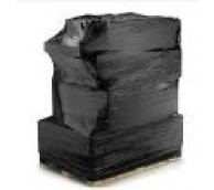 Black Pallet Wrap With Extended Cardboard Core - 400 x 300 x 14mu