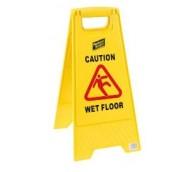Caution Wet Floor / Cleaning in Progress Sign