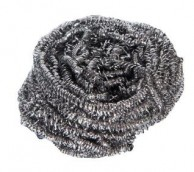 Stainless Steel Scourers, 40 grams - pack of 10