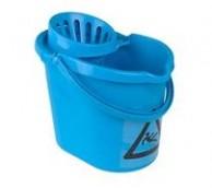 12Ltr Plastic Mop Bucket & Rose - Various Colours