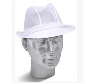 White Trilby Hat - Various Sizes