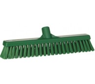 410mm Soft/Hard Combination Bristle Broom - Various Colours