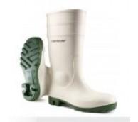 Dunlop White PVC Safety Wellington Boot - Various Sizes