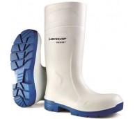 Dunlop Purofort Multigrip White Safety Wellington - Various Sizes
