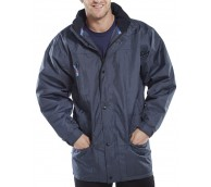 Navy Guardian Jacket with hood - Various Sizes