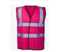 Pink High Viz Vest - Various Sizes