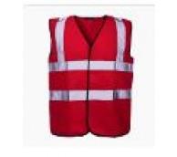 Red Hi Vis Vest - Various Sizes