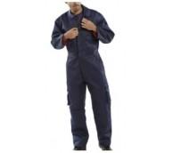 Navy Blue Polycotton Boilersuit - Various Sizes